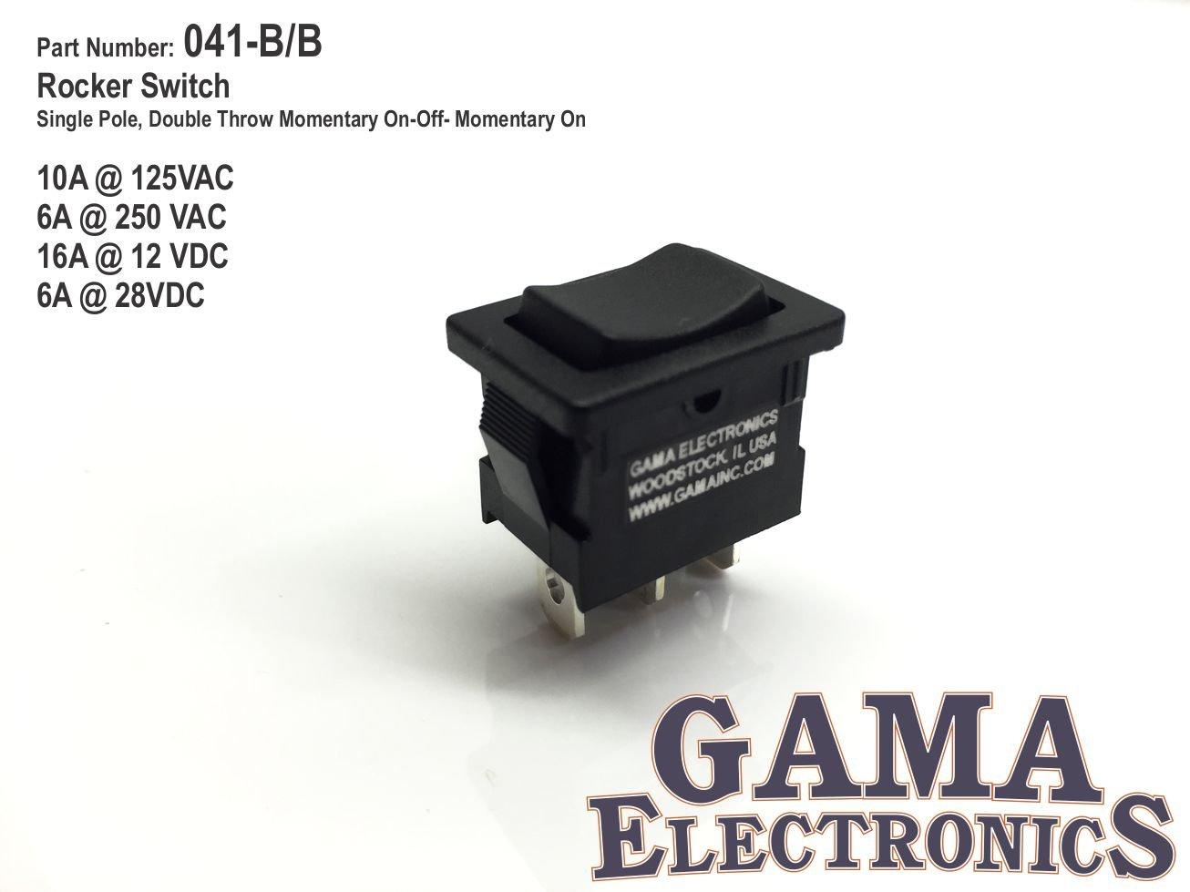 Amazon.com: Mini 10 Amp 3 Position Momentary Rocker Switch: Automotive