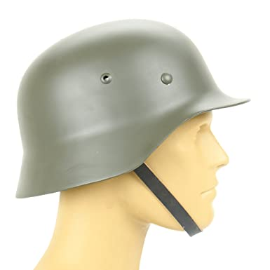 7bf1a9f21098 Amazon.com  German WWII M35 Steel Helmet- Stahlhelm 35 WW2 M1935 ...