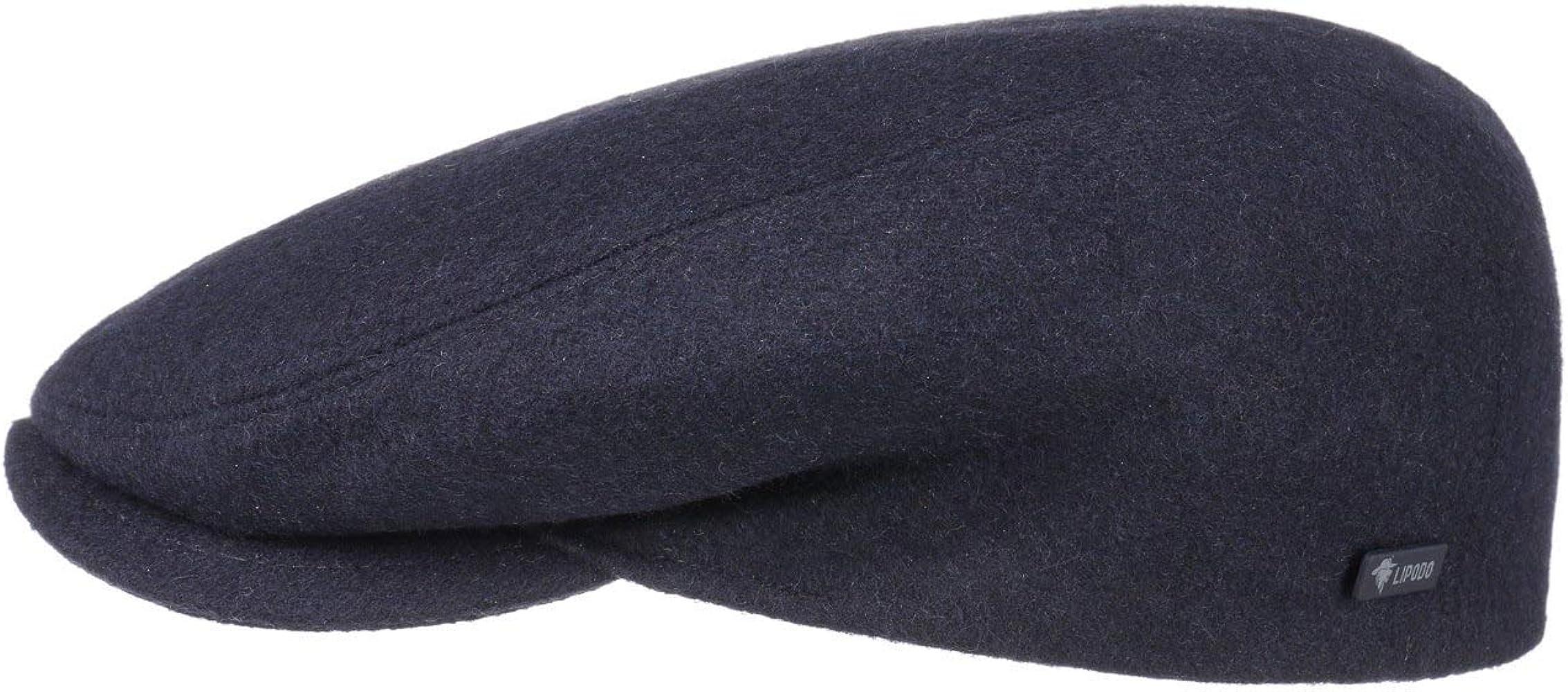 Lipodo Gorra Gatsby Sport Azul 49 cm | Gorra de Corte Plano para ...