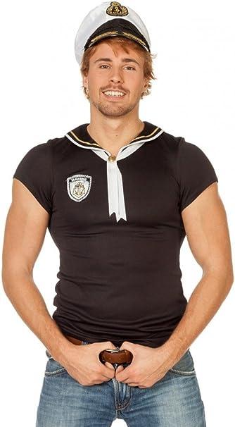 shoperama Camiseta para Hombre con Sombrero Marinero Marineros ...
