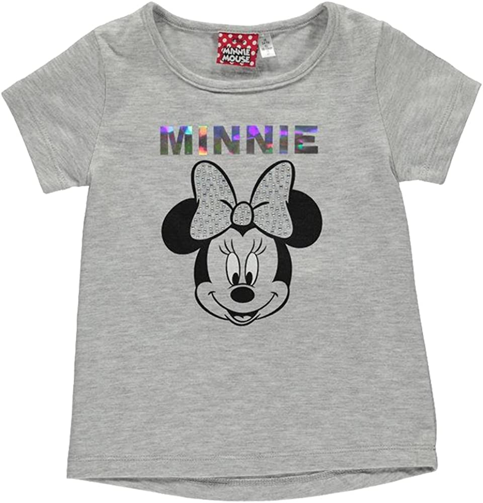 Character/  Kids Girls Lightweight Short Sleeve T Shirt Top