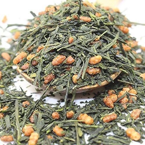 Premium Genmaicha Japanese Loose Leaf Green Tea, Organic - 3.5oz / 100g (Brown Rice Tea Loose Leaf compare prices)