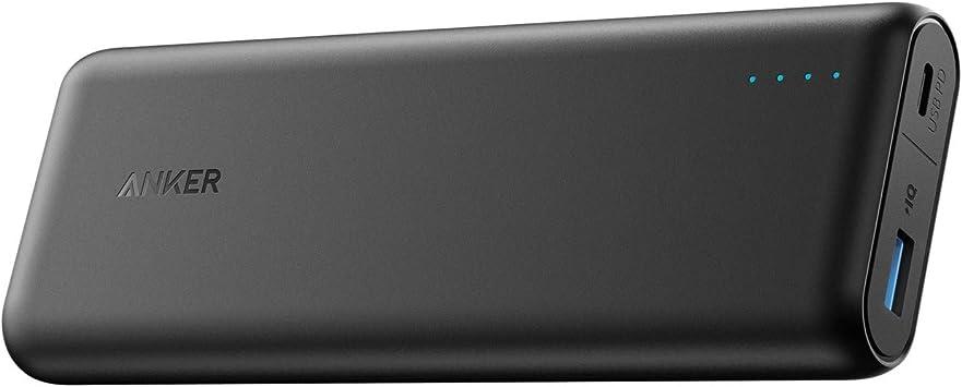 Anker PowerCore batería Externa Negro Ión de Litio 20100 mAh: Amazon.es: Electrónica