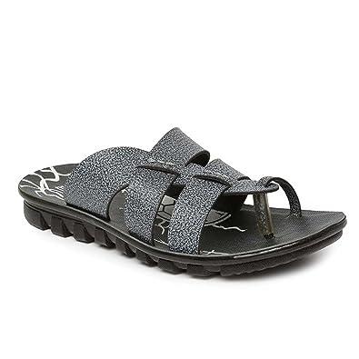 53cc1ee5d032 PARAGON Vertex Men s Grey Flip-Flops  Buy Online at Low Prices in ...