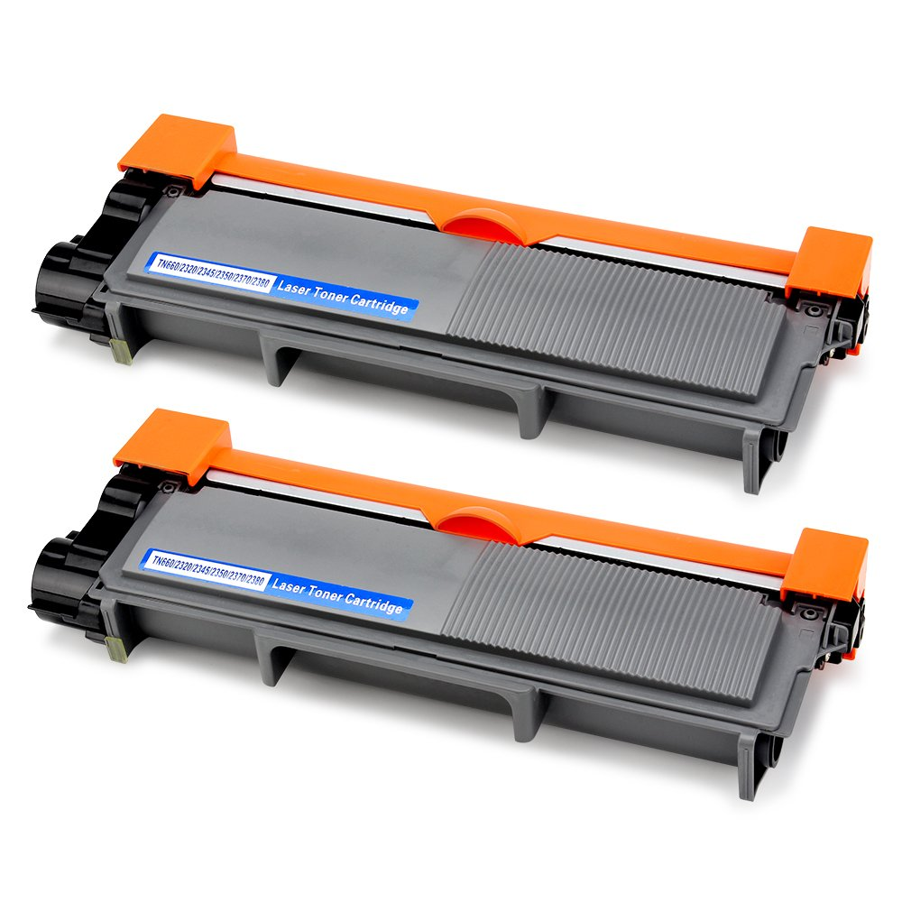 Office World Compatible Toner Cartridge Replacement for Brother TN660 TN-660 (2 Packs),Compatible with Brother HL-L2340DW HL-L2380DW HL-L2300D DCP-L2540DW MFC-L2700DW MFC-L2740DW