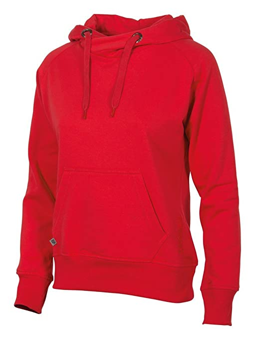 Stanno - Sudadera con Capucha para Mujer (Borgoña) - XS, 80% algodón