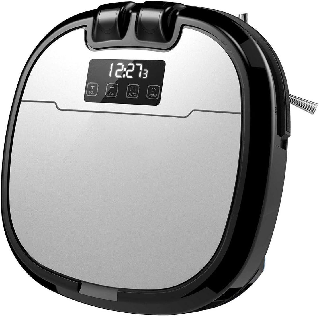 Robot Aspirador, Automáticas Horario Carga Limpieza Autodetección Aspiradora con Cámara Incorporada, App, Control Remoto para Alfombras Y Pisos Duros para Cabello Ascotas: Amazon.es: Deportes y aire libre