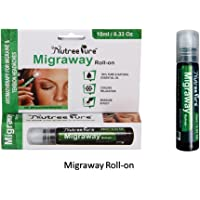 Nutree Pure Migraway Migraine, Headache and Stress Relief Roll On - 10ml