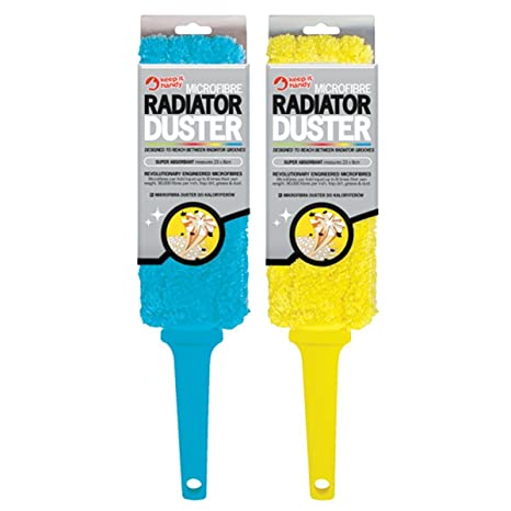 Pack de 2 plumeros de microfibra para radiadores