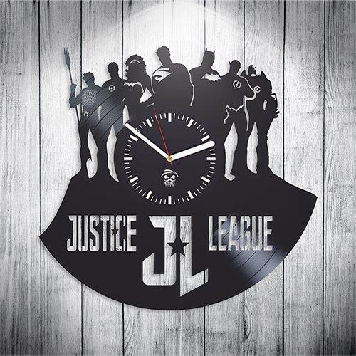 Justice League Dark Online Movie, Vinyl Record Best Gift For Boyfriend, Kovides, Vinyl Wall Clock Home Decor, Decoration Living Room Inspirational Comics Marvel DC Movie, Silent Mechanism, Wall Art