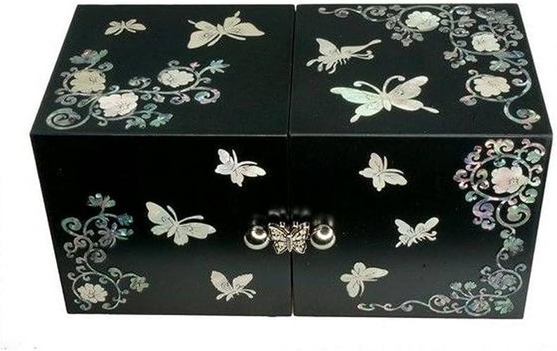 boite a bijoux en forme de papillon