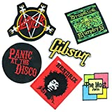 Music Heavy Metal Punk rock Band Embroidered Iron on Patches (A005)