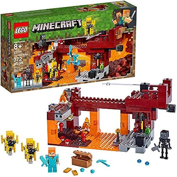 LEGO Minecraft גשר בלייז 21154