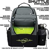 MVP Disc Sports Backpack Shuttle Disc Golf Backpack Bag