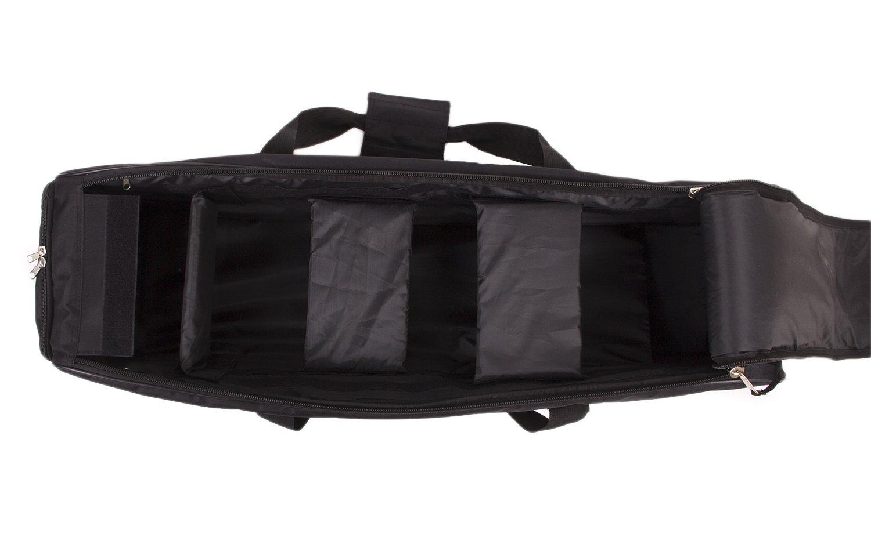 Fovitec - 1x Classic Photography & Video Lighting Equipment Duffle Bag - [35'' x 9'' x 9''][Lightweight][Durable Nylon][Dual Zippers] by Fovitec (Image #5)