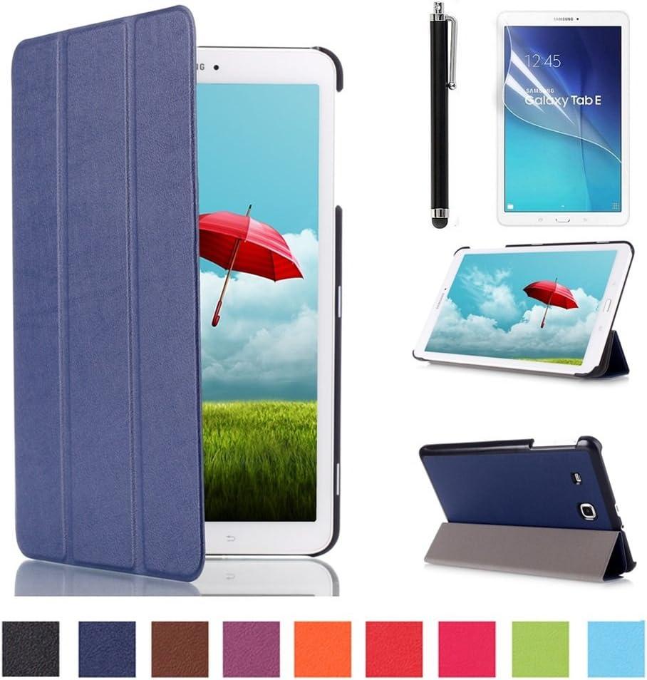 Custodia Protettiva 360 gradi Blu Custodia per Samsung Galaxy Tab e 9.6 SM t560 t561 GUSCIO