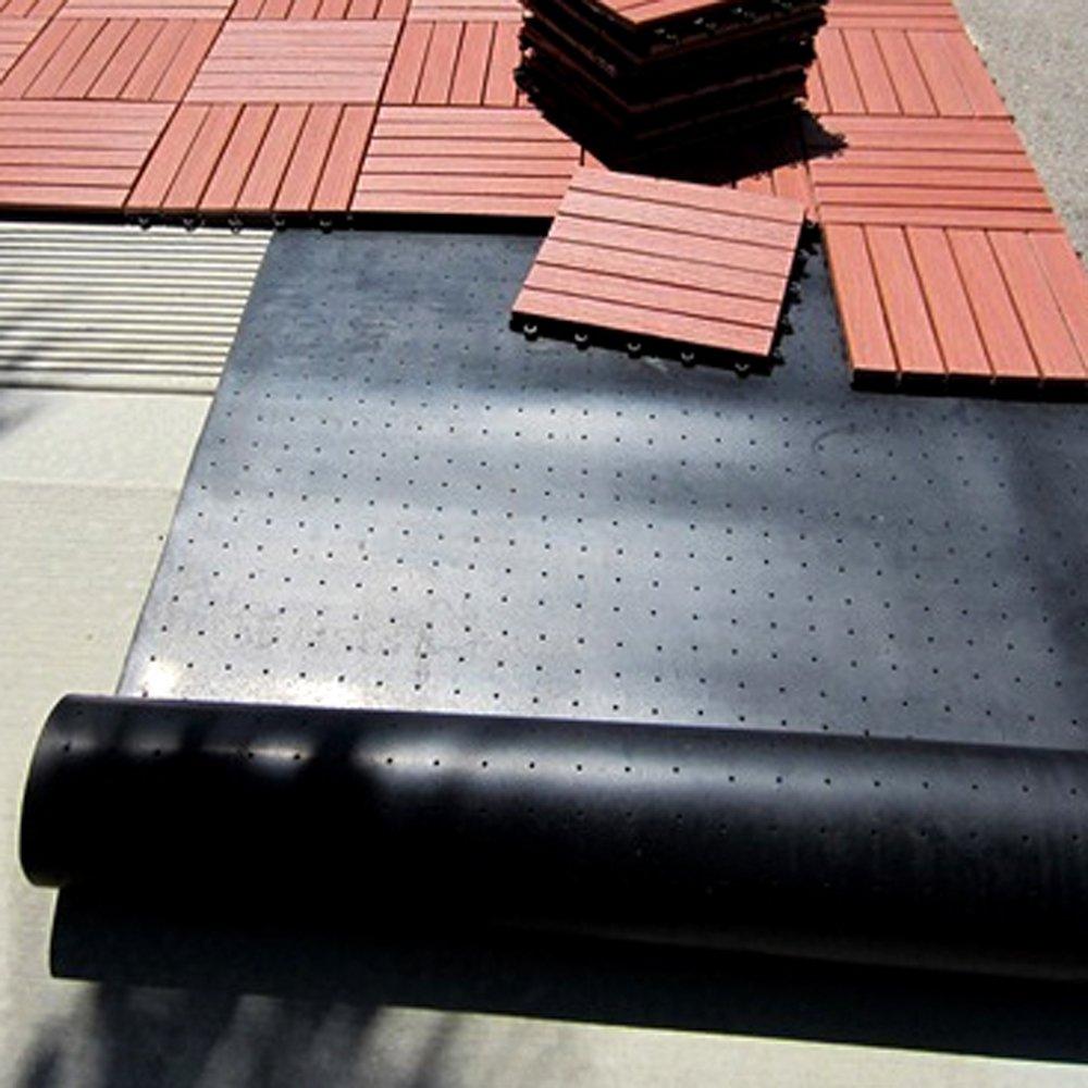 Amazon vifah v1116 protective rubber mat for roof top membrane amazon vifah v1116 protective rubber mat for roof top membrane 78 square feet outdoor decorative stones garden outdoor tyukafo