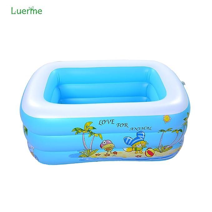 Luerme Baby Kids Pool Multi-layer Inflatable Bathtub Garden Outdoor ...