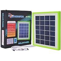 Painel Solar 6v 2.5w Carregador de Celular USB com Bateria Interna 6000ma Hongtai HT3889