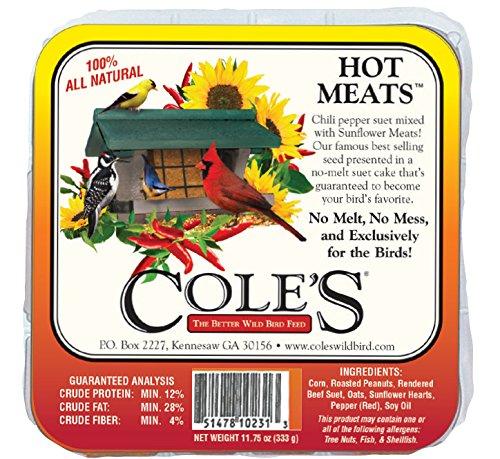 Cole's HMSU Hot Meats Suet Cake