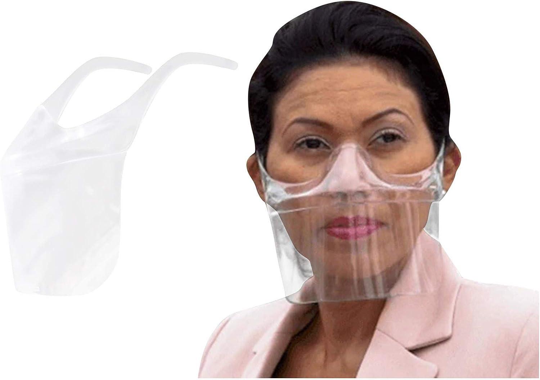 GSusan 1 pcs protectoras transparentes de pantalla de protección anti Oil Splash Cartel Facial Visera,Pantalla Facial Protectora para Hombres y Mujeres para Proteger los Ojos y la Cara