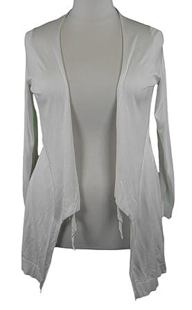 Marina Rinaldi by MaxMara Marsico Off White 3/4 Sleeve Cardigan L