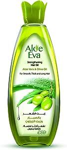 Aloe Eva Hair Oil With Aloe Vera and Olive Oil, 200 ml