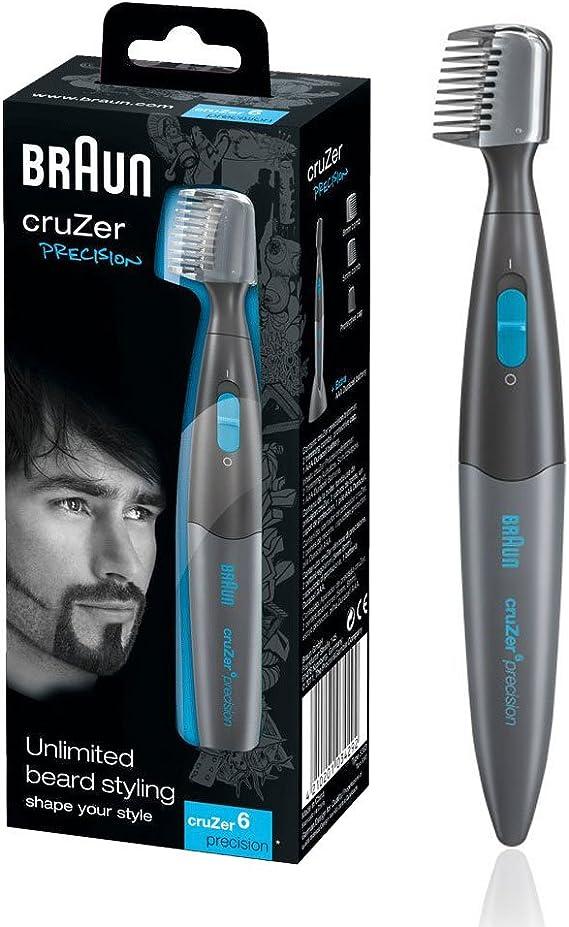 Braun Cruzer 6 Hombre Two-in-One Hair Trimmer de precisión y ...