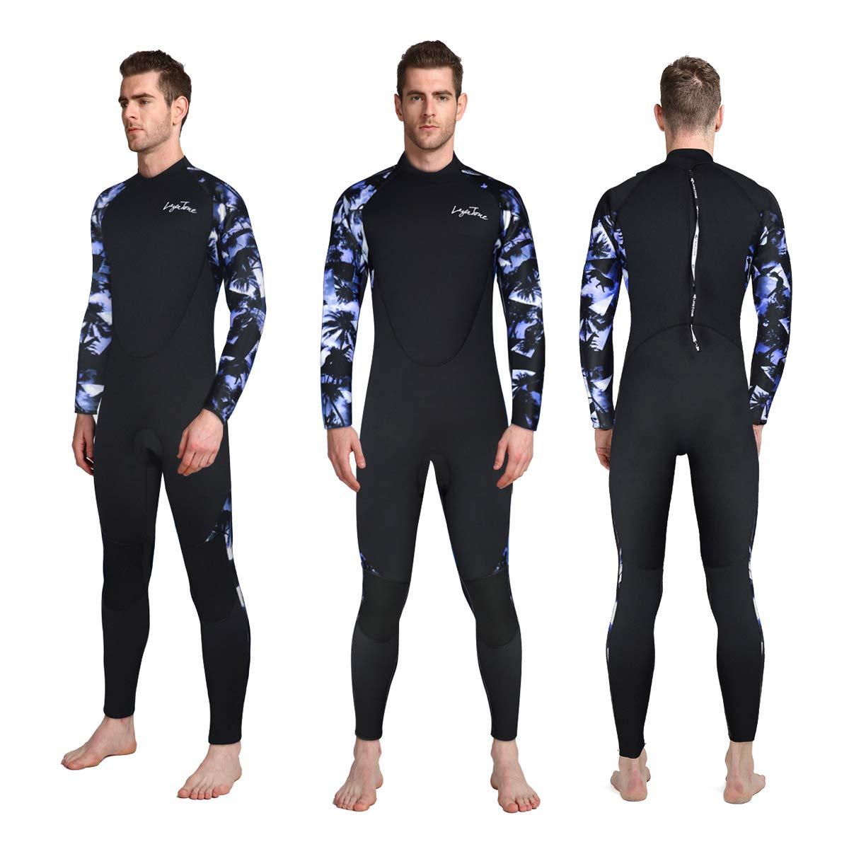 Amazon.com: Layatone Diving Suit Men 3mm Neoprene Suit Surf ...