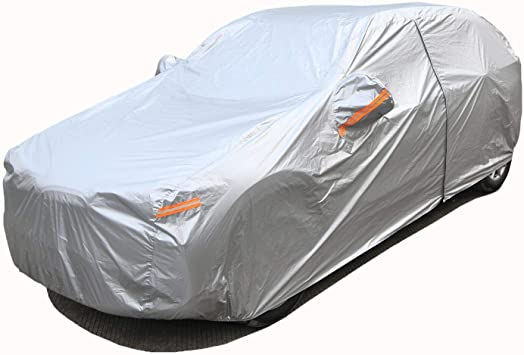 1997 1998 1999 2000 2001 Jeep Cherokee 4DOOR Breathable Car Cover w//MirrorPocket