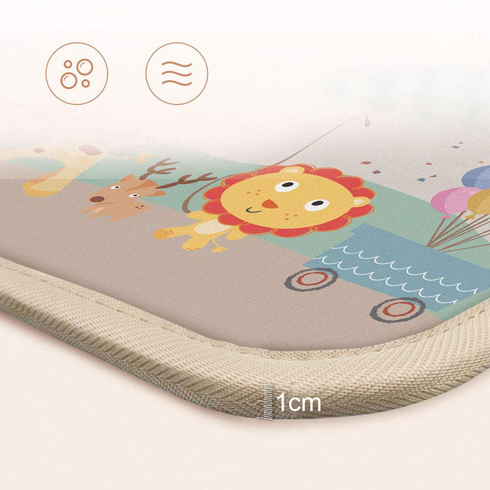 "Baby Crawling Mat Baby Carpet Game Mat Child Foam Pad Blanket Picnic Play Mat Living Room Nursery Rug 78.7/"" x 70.8/"""