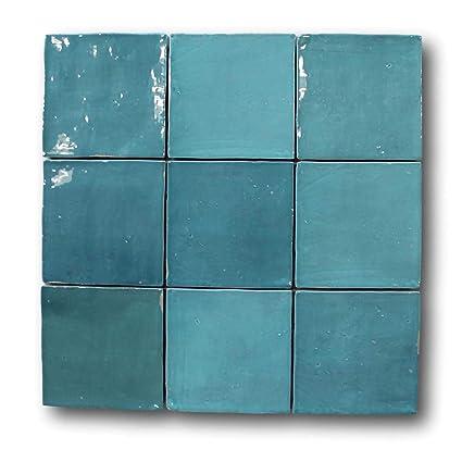 Amazon com: 8 Square Foot Box of Mestizaje Zellige 5 x 5 Ceramic