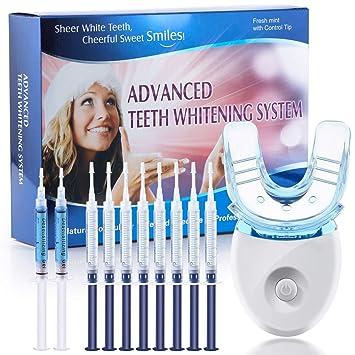 Amazon Com Orihea Teeth Whitening Kit With Led Light Dental