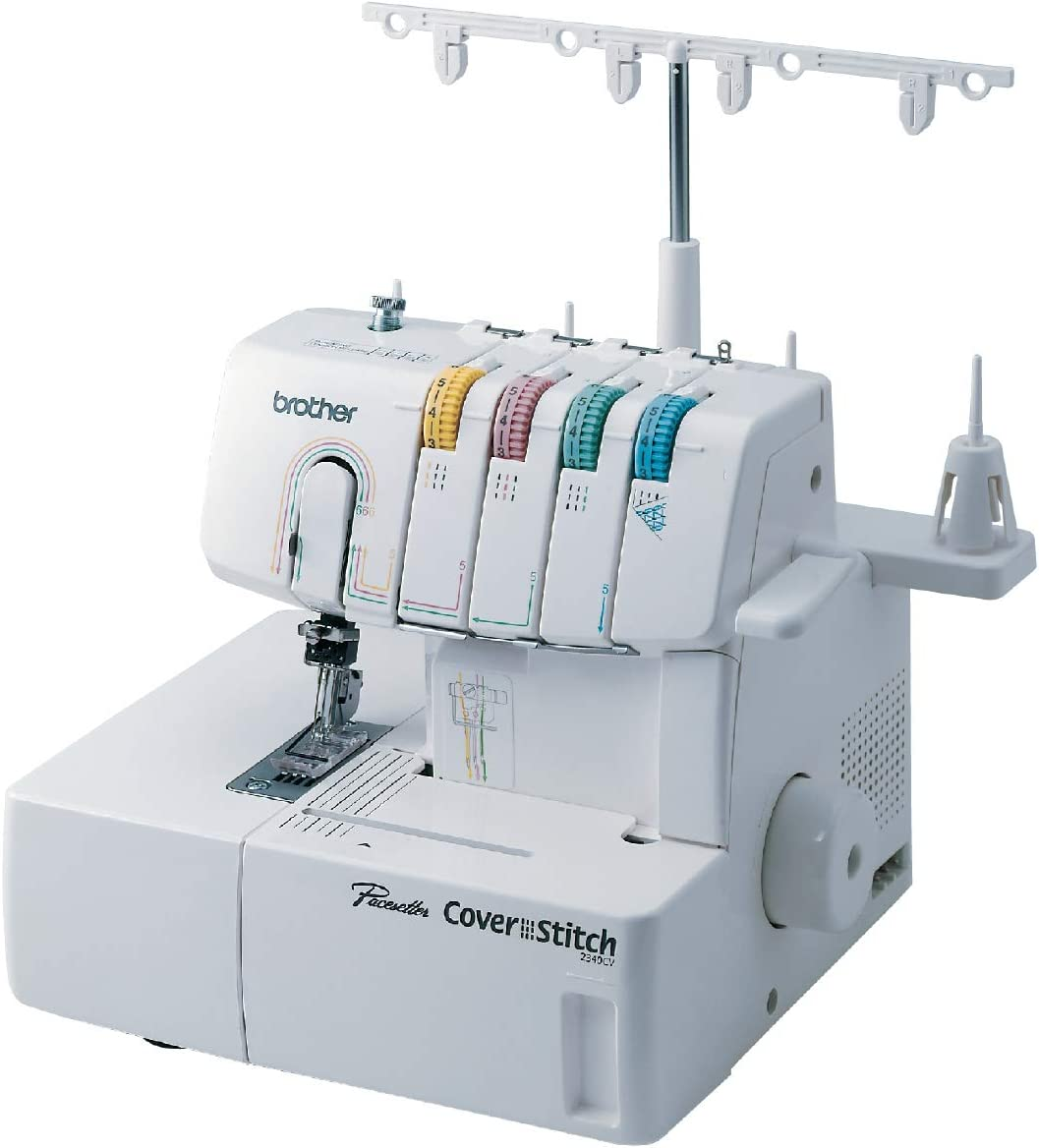 Coverstitch Sewing Machine-Brother 2340CV Cover Stitch – Best Overall Coverstitch Machine w/ Serger