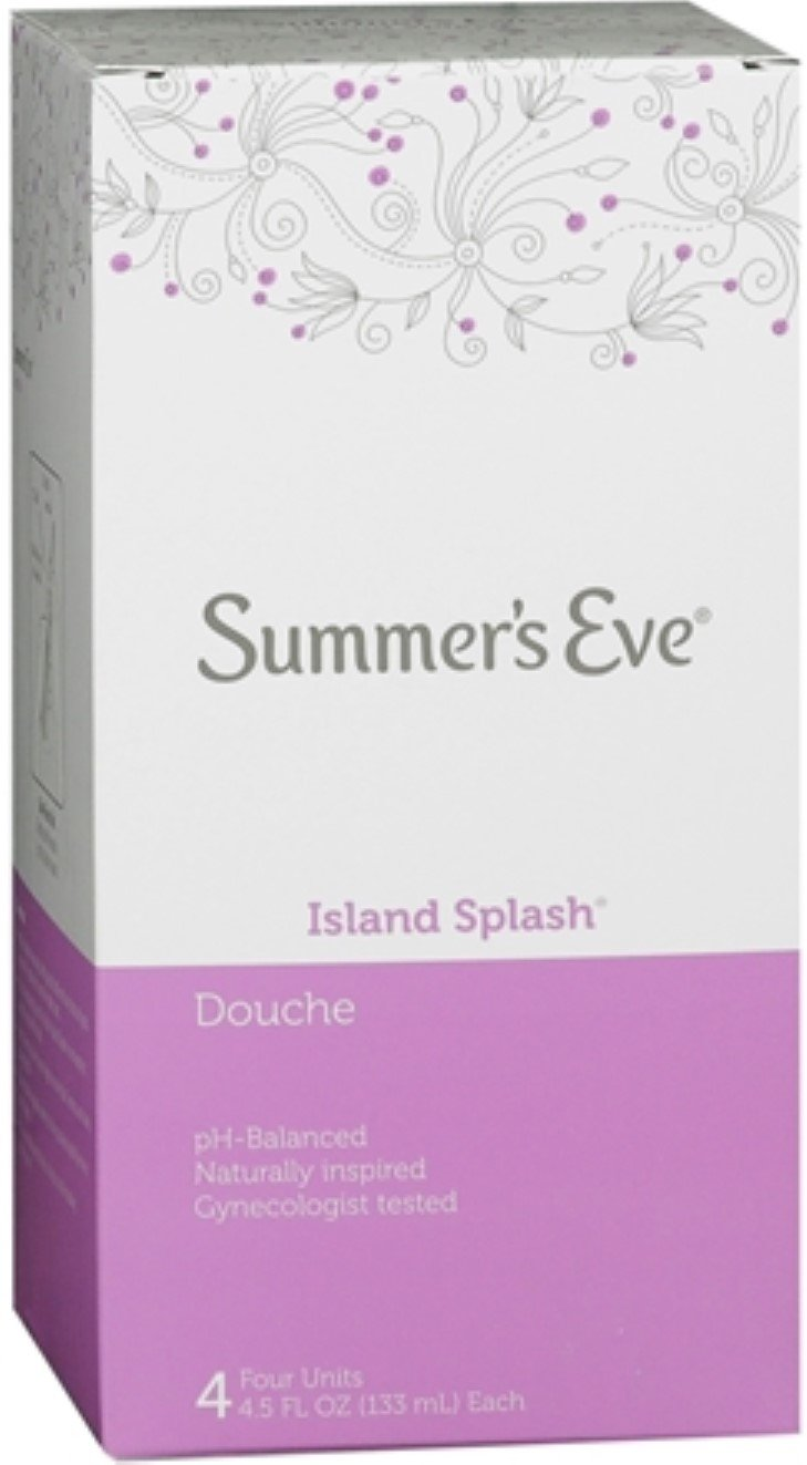 Summer's Eve Douches Island Splash 4 Each (Pack of 5) by Summer's Eve