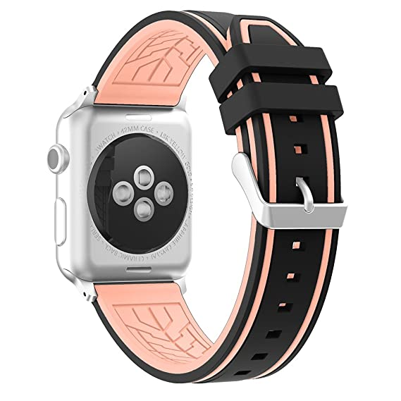 Correa Reloj Apple Watch 45mm, Fmway Repuesto de Correa Reloj de Silicona para Apple Watch