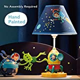Fantasy Fields - Kids Table Lamp Bedside Light - Outer Space - Child Friendly Water-based Paint