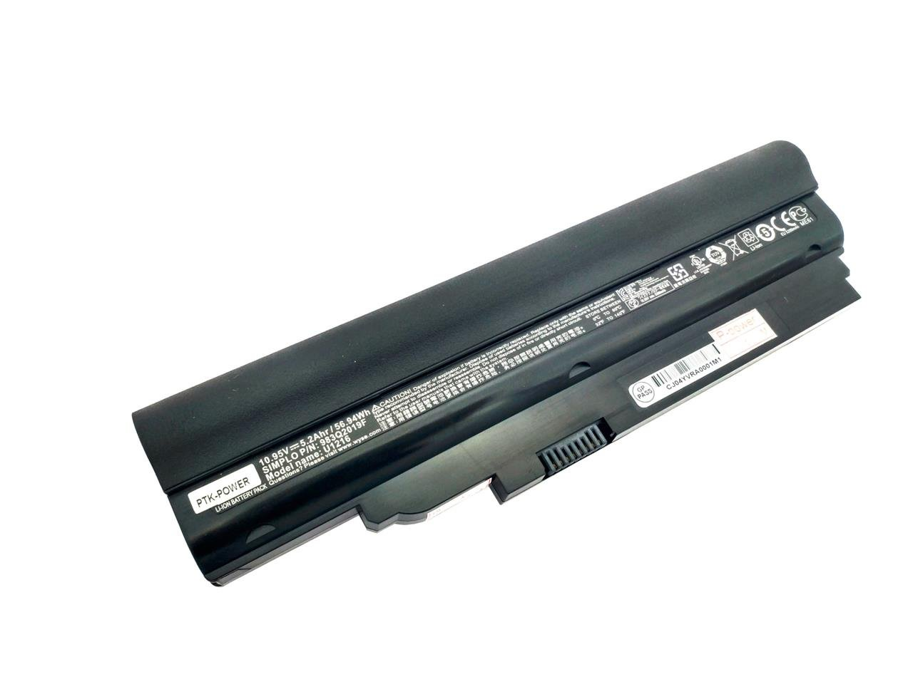 PTK-POWER 10.95V 56.94Wh 5.2Ahr 983Q2019F U1216 Notebook Battery For BENQ U121 U122 Series Laptop batteries by PTK-Power (Image #1)
