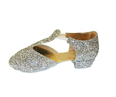 dab55d5085 Dance Depot Leather or Glitter Greek Sandals  Amazon.co.uk  Shoes   Bags