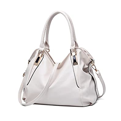 f5337e3296f VECHOO Designer Women Handbag Female PU Leather Bags Handbags Ladies  Portable Shoulder Bag Office Ladies Hobos