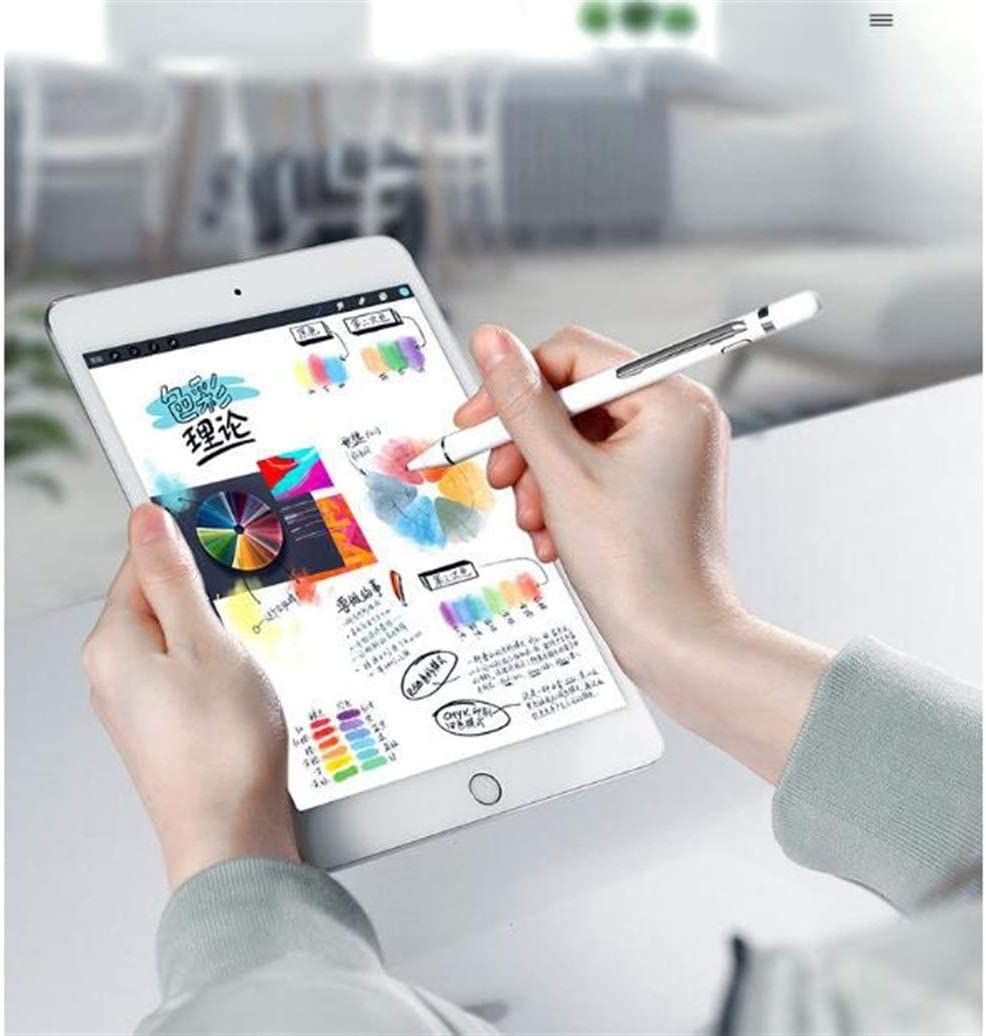 Color : White Android 1.45mm Thin Head Haoyushangmao Active Capacitive Pen Tablet Touch Screen Pen iOS Mobile Phone Painting Stylus Universal High Precision Comfortable to The Touch