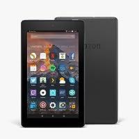 Fire 7-Tablet mit Alexa, 17,7 cm (7 Zoll) Display, 16 GB (Schwarz), mit Spezialangeboten