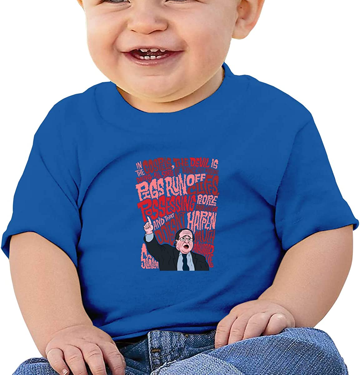 EVE JOHN Antonin Scalia Tee Comfortable T Shirts for Toddler Black