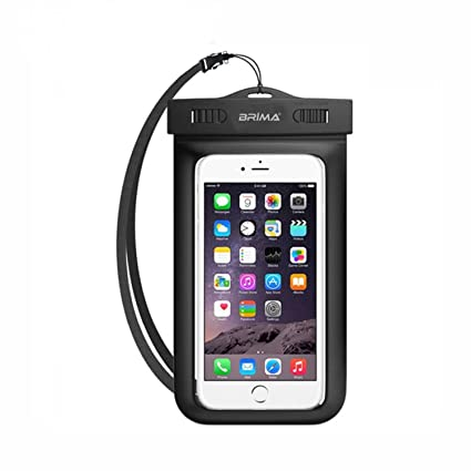 huge selection of 6020f 51020 BRIMA Waterproof Pouch Cover for All Mobile Phones (Black)