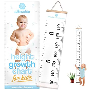 Amazon Height Growth Chart For Kids Portable Foldable