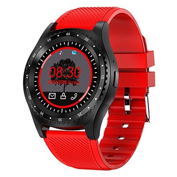 Amazon.com: Widewing L9 Bluetooth Pedometer Smart Watch ...