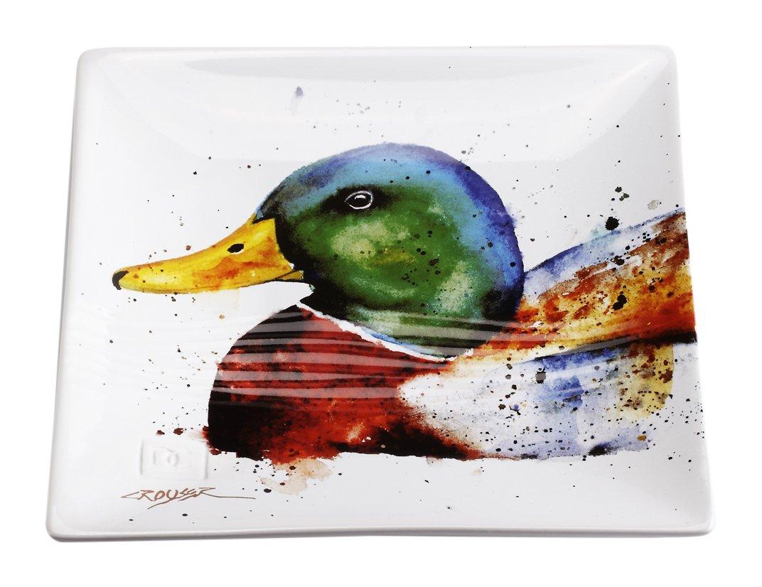 Big Sky Carvers Mallard Snack Plate, Multicolor 3005050736