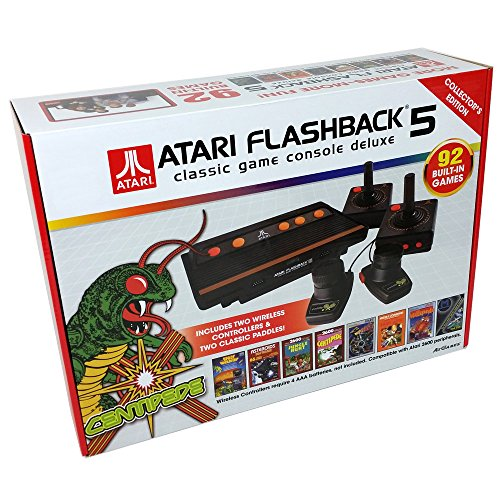 Atari Flashback 5 Classic Game Console Deluxe Collector's Edition by AtGames [parallel import ()
