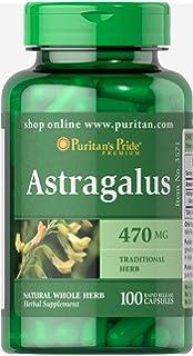 Puritans Pride Astragalus 470 mg-100 Capsules