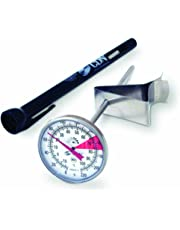 CDN Proaccurate Insta-Read Beverage/Frothing Thermometer, Silver